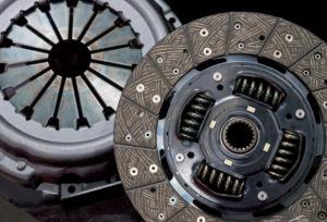 A Pressure Plate and a Clutch Plate
